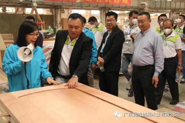 Runcheng Chuangzhan-RCCZ Warmly Welcome Malaysia-China Friendship Association Enterprise Exchange Gr-3