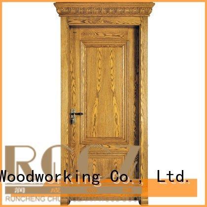 s038 x019 pp016 pp003t Runcheng Woodworking solid wood composite doors