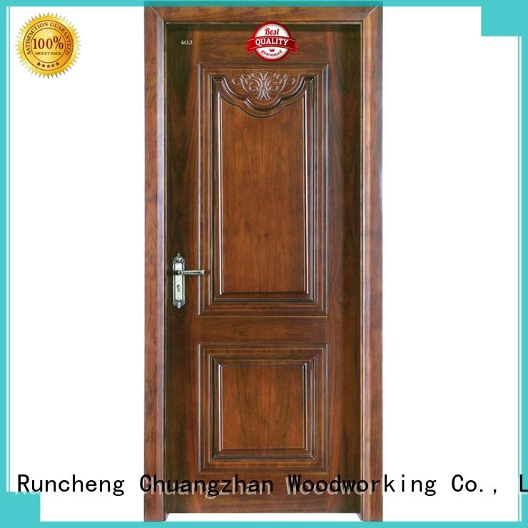 composited modern modern design solid solid wood composite doors Runcheng Woodworking