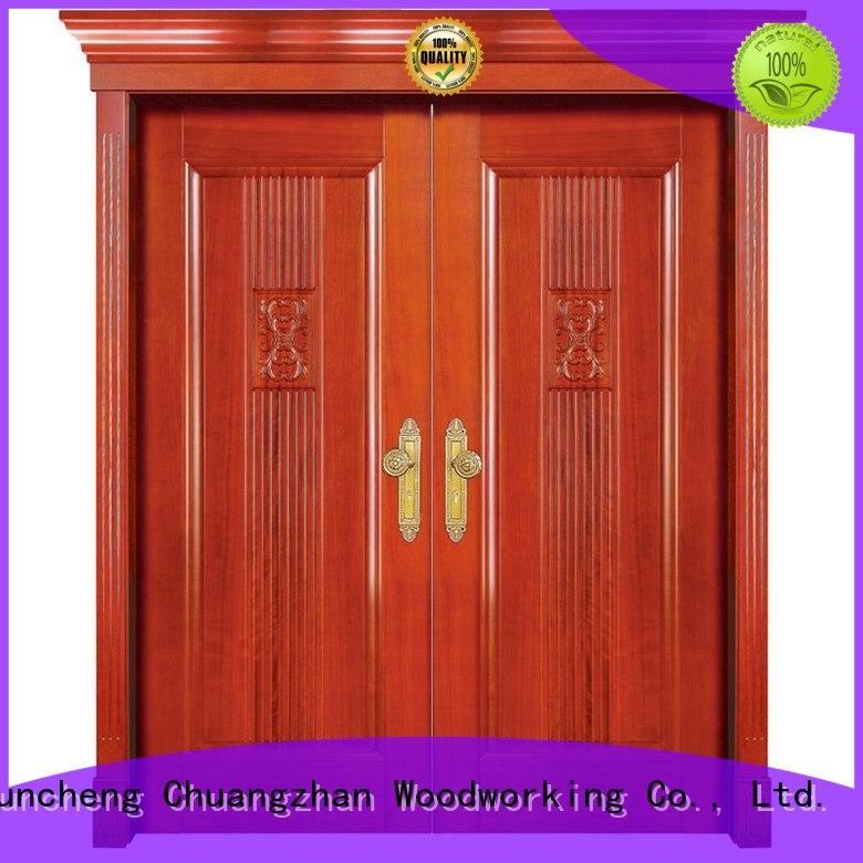 interior double doors door double Runcheng Woodworking Brand interior double doors