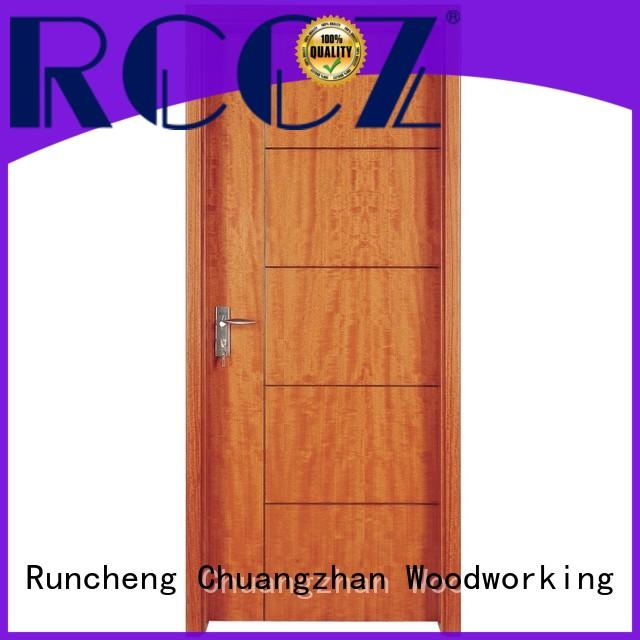 eco-friendly wood composite door wooden for business for hotels