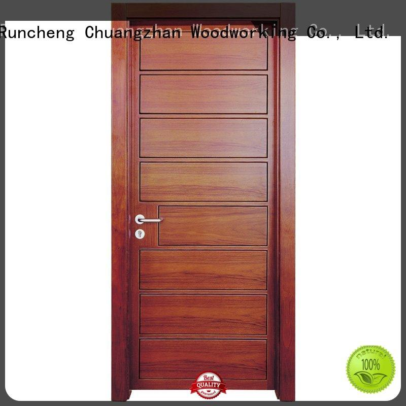 wooden kitchen cabinet doors pure modern Runcheng Woodworking Brand company