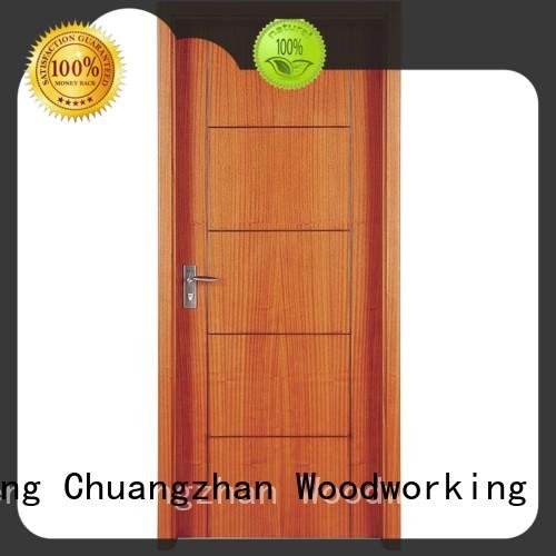 New solid wood door designs manufacturers for indoor