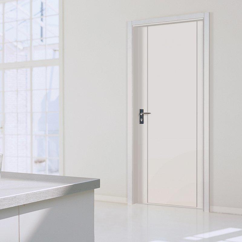 PP004  Internal white MDF composited wooden door
