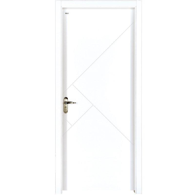 PP028  Internal white MDF composited wooden door