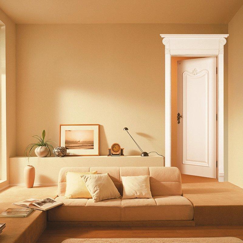 X037 Internal white MDF composited wooden door