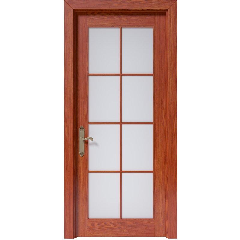 Runcheng Woodworking CK010 Interior veneer composited modern design wooden door Solid  Wood  Composite Door image39