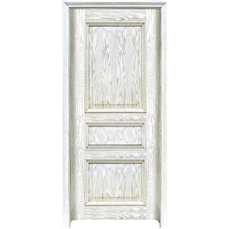 GK002  Interior veneer composited modern design wooden door