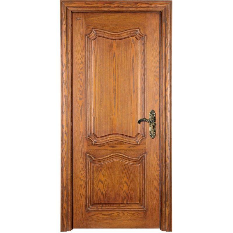 K008  Interior veneer composited modern design wooden door