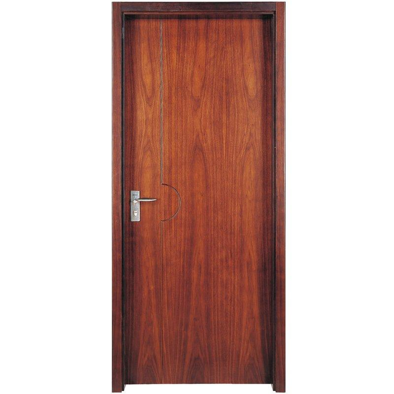 PP007T Interior veneer composited modern design wooden door