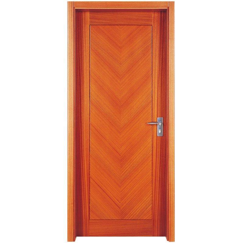 PP009 القشرة الداخلية تتألف من باب خشبي بتصميم عصري