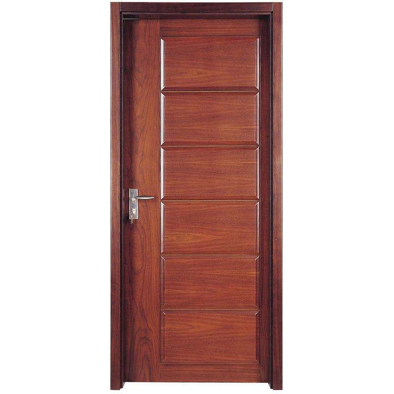 PP012 Interior veneer composited modern design wooden door