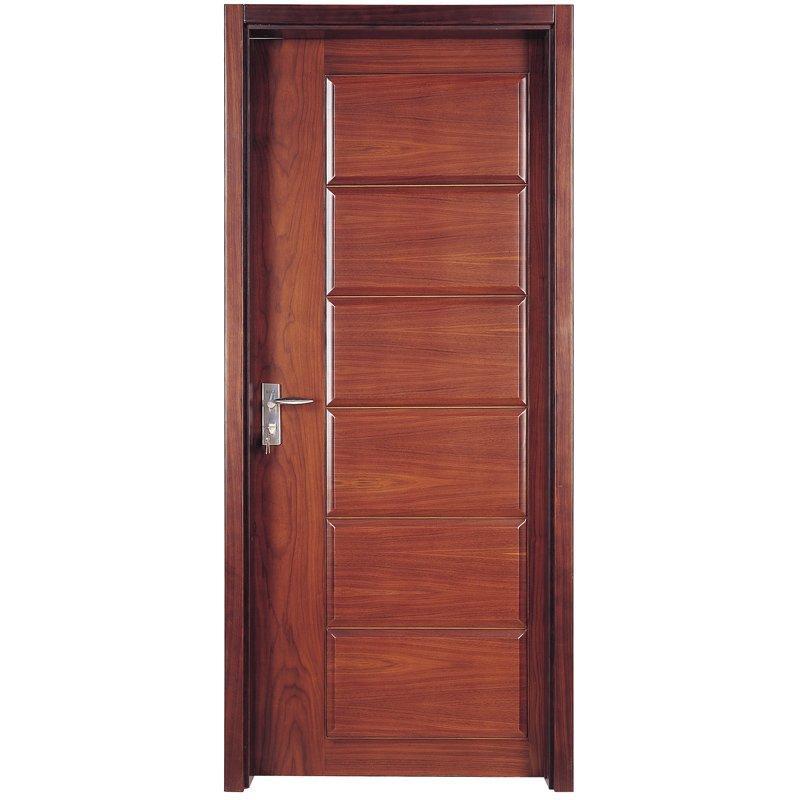PP012 القشرة الداخلية تتألف من باب خشبي بتصميم عصري