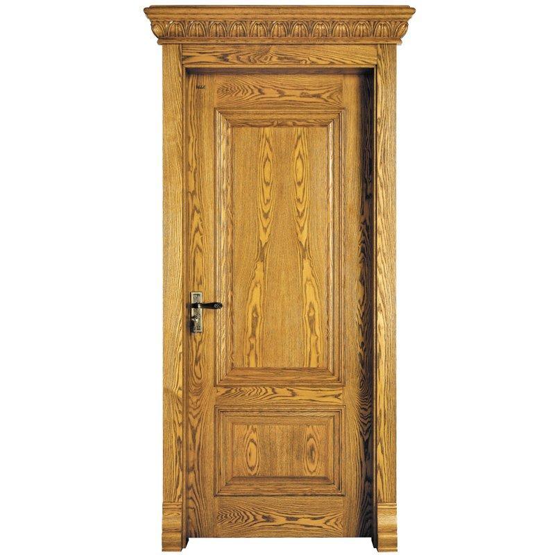 X035 Interior veneer composited modern design wooden door