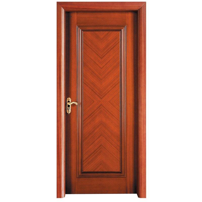 X036  Interior veneer composited modern design wooden door