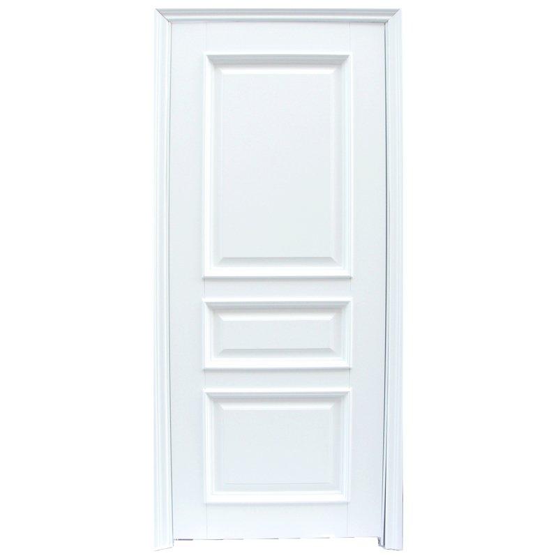 Runcheng Woodworking X044 Interior veneer composited modern design wooden door Solid  Wood  Composite Door image8