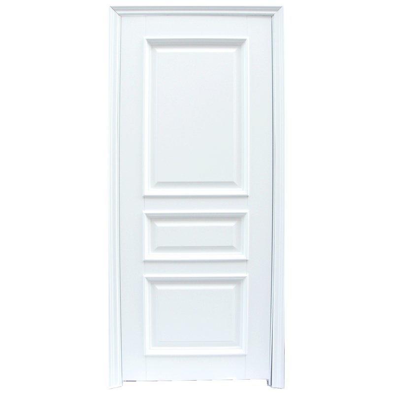 X044 Interior veneer composited modern design wooden door