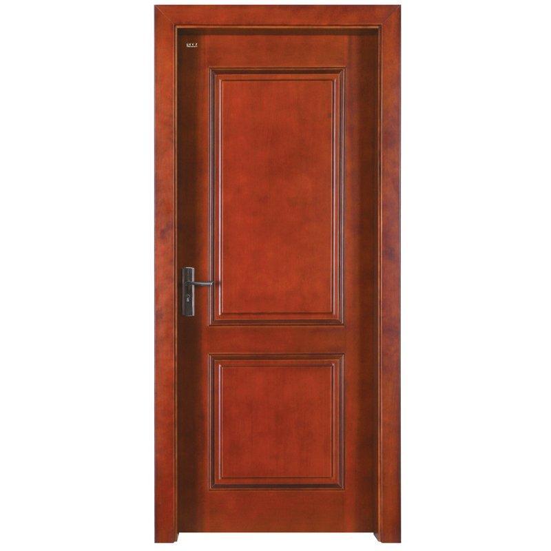 Z002P Interior veneer composited modern design wooden door