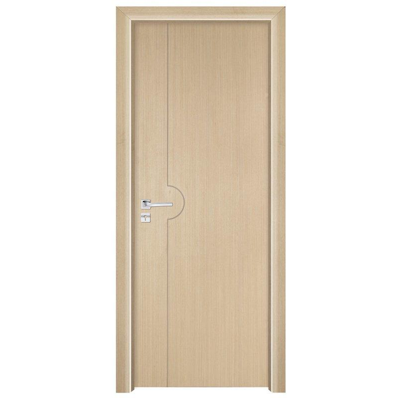 PP007  Interior veneer composited modern design wooden door