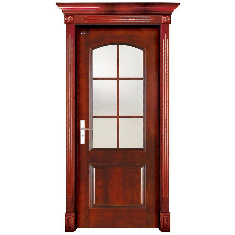 S001-3 Interior pure solid wooden door