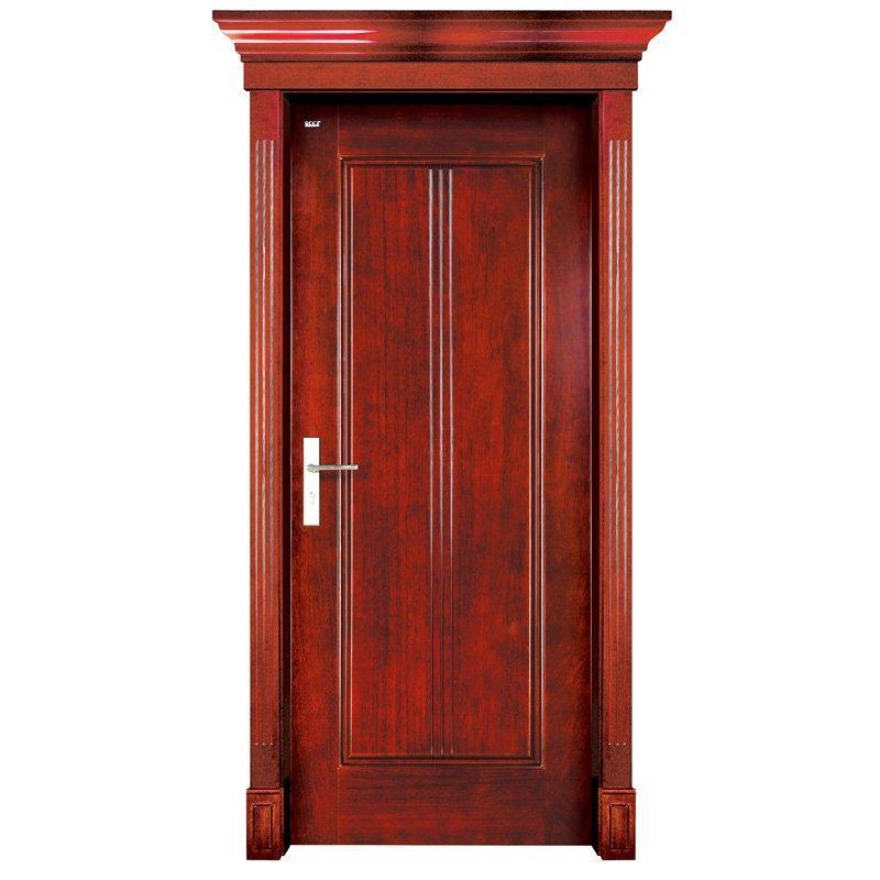 S004 Interior pure solid wooden door