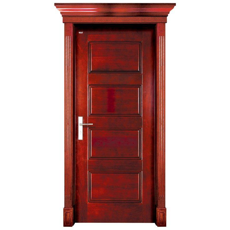 S005 Interior pure solid wooden door