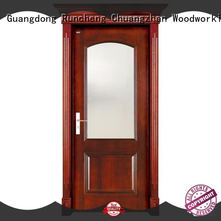 eco-friendly interior wood doors wooden wholesale for hotels