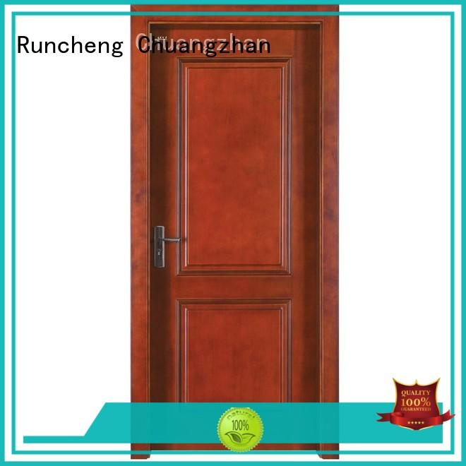 Runcheng Chuangzhan composited wooden moulded doors factory for villas