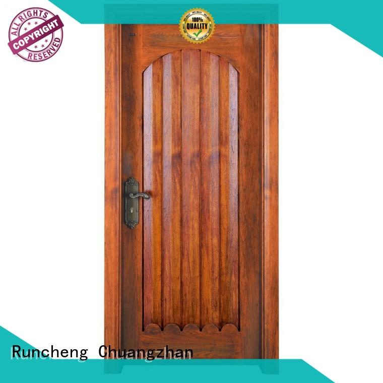 Runcheng Chuangzhan eco-friendly solid wood interior doors wholesale for homes