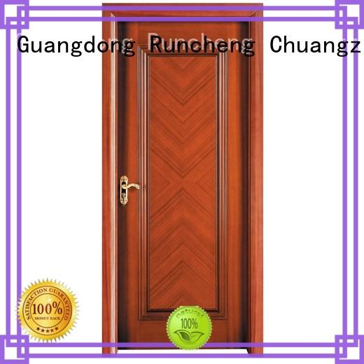 Runcheng Chuangzhan dedicated wood effect composite door Suppliers for offices
