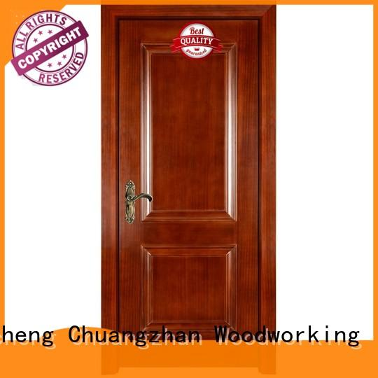 Runcheng Chuangzhan Latest wood composite front doors manufacturers for hotels