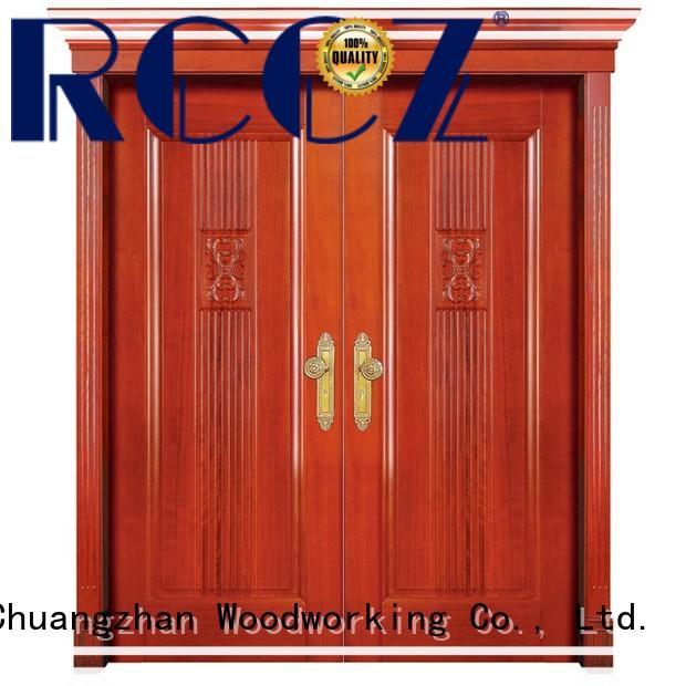 Best double entrance doors glass factory for villas