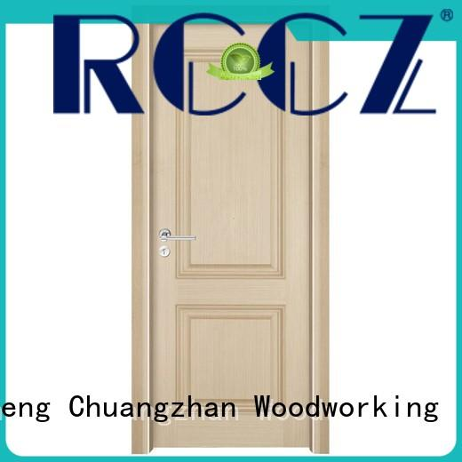 Runcheng Chuangzhan eco-friendly solid wood composite doors Suppliers for offices