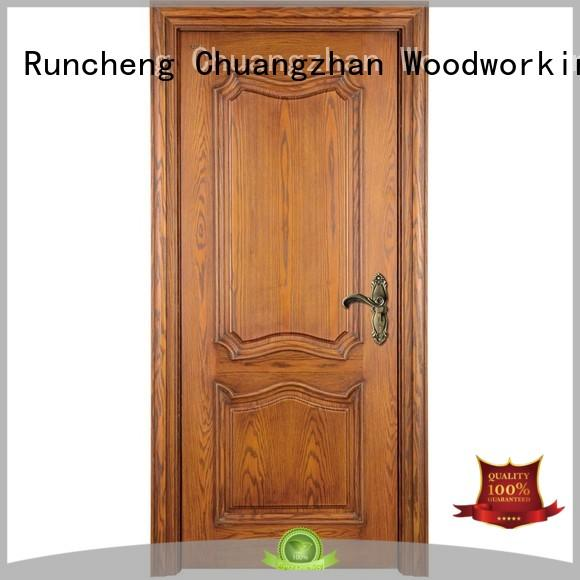 wooden kitchen cabinet doors design composited Runcheng Woodworking Brand