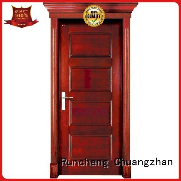 Runcheng Chuangzhan wooden new wood door manufacturer for indoor