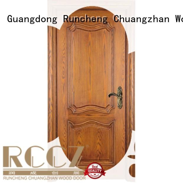 dedicated solid wood door designs Suppliers for hotels