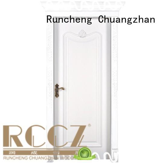Runcheng Chuangzhan door mdf interior doors prices factory for villas