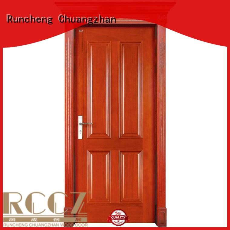 Runcheng Chuangzhan well-chosen solid wood doors supplier for indoor
