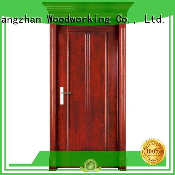 interior pure high quality door solid wood bifold doors Runcheng Woodworking