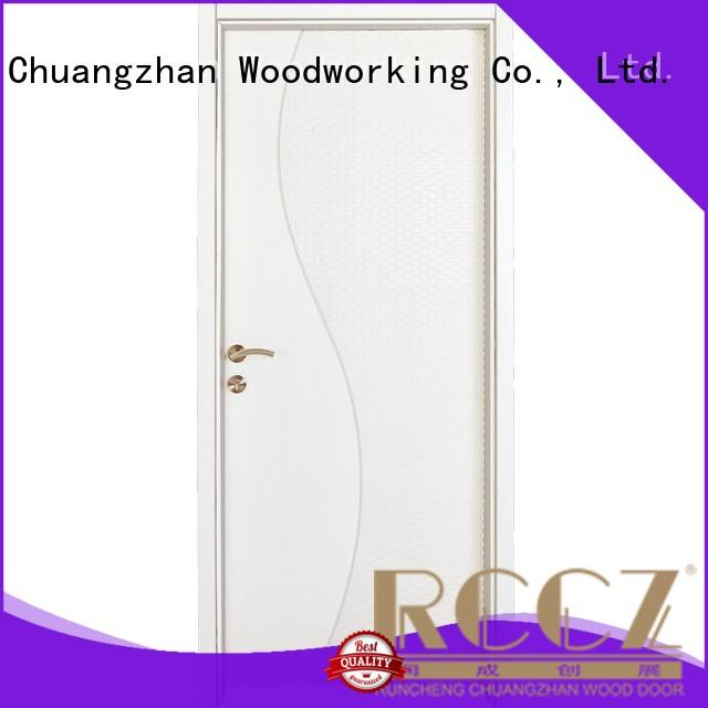 Runcheng Chuangzhan white solid mdf doors Supply for villas