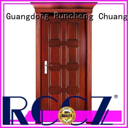 Runcheng Chuangzhan Best hardwood doors for sale factory for homes