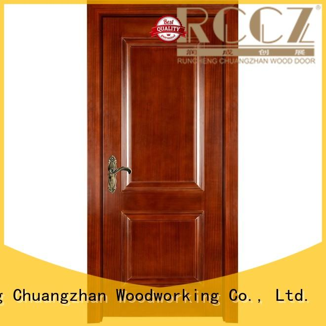 solid composited wooden Runcheng Woodworking Brand wooden kitchen cabinet doors manufacture