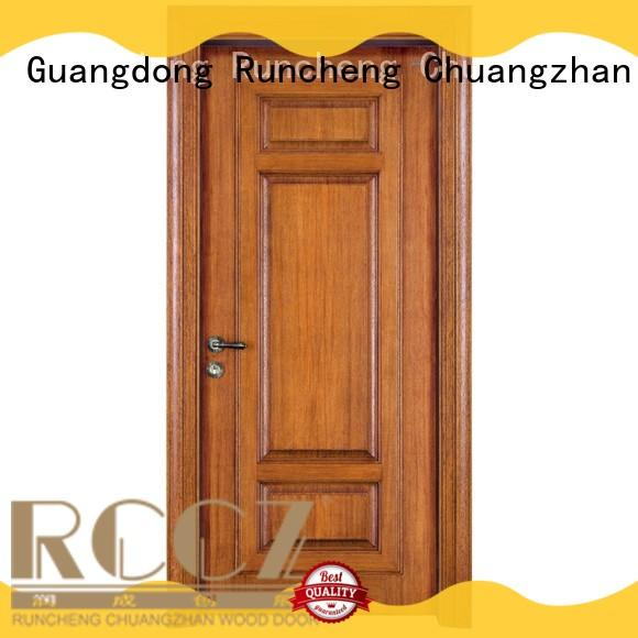 Runcheng Chuangzhan interior solid composite wooden door factory for offices