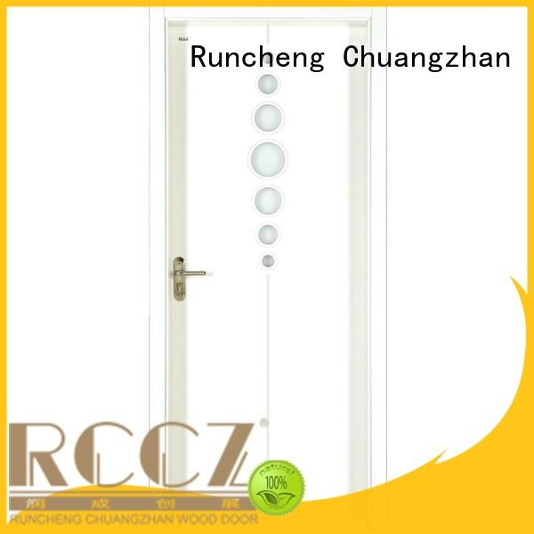 Runcheng Chuangzhan eco-friendly mdf interior doors Supply for villas