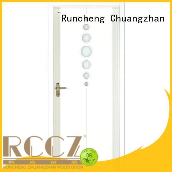Runcheng Chuangzhan eco-friendly mdf interior doors Supply for villas