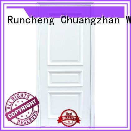Runcheng Woodworking Brand design veneer wooden kitchen cabinet doors pure