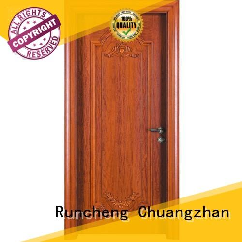 Runcheng Chuangzhan attractive wooden moulded doors Supply for offices