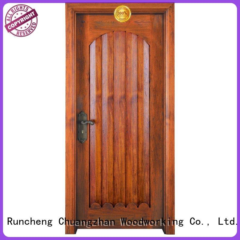 Quality Runcheng Woodworking Brand high quality solid wood bifold doors