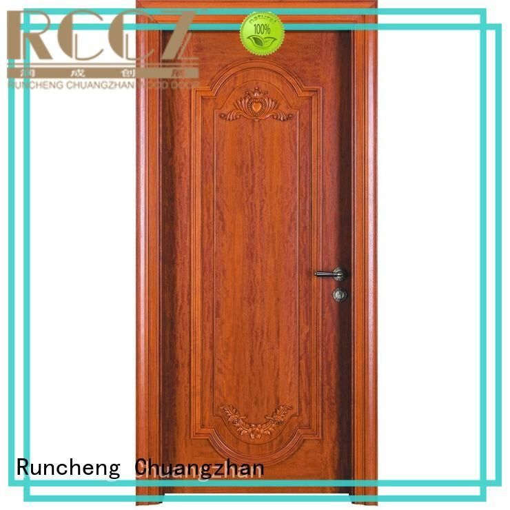 Custom wood composite door for business for indoor