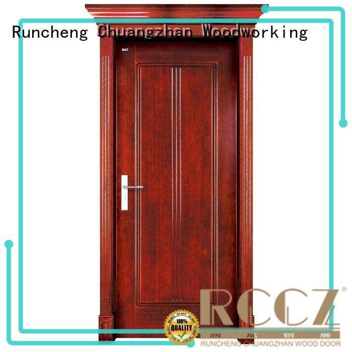 Runcheng Chuangzhan door interior wood doors with glass manufacturer for hotels